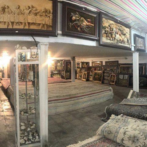 نمایشگاه و فروشگاه فرش ملک زاده