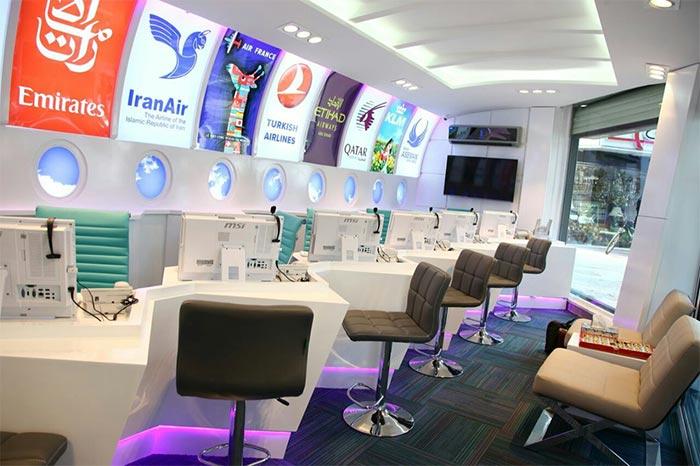 آژانس هواپیمایی ستاره ونک : خرید اینترنتی بلیط