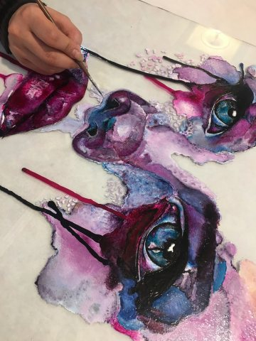 آموزشگاه هنرهای تجسمی رنگدانه