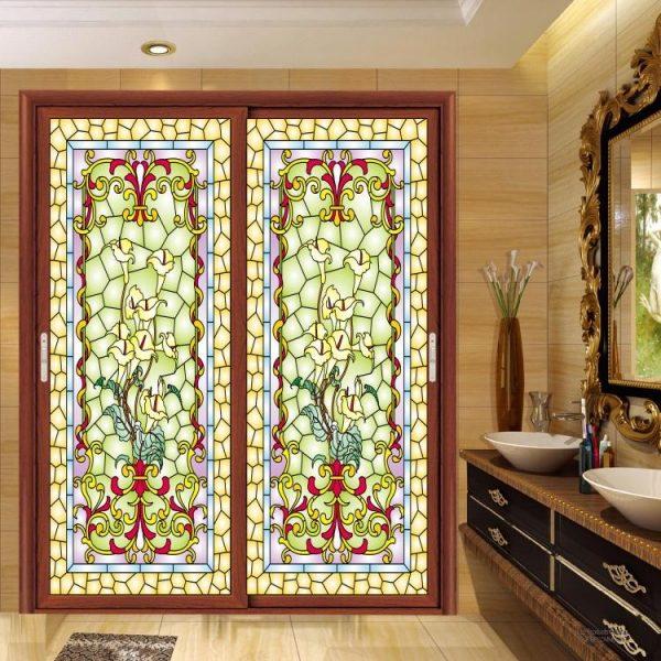 شرکت شیشه و هنر مهر | تولید کننده شیشه های دکوراسیون داخلی - کاشی شیشه ایی  - پارتیشن - سقف کاذب
