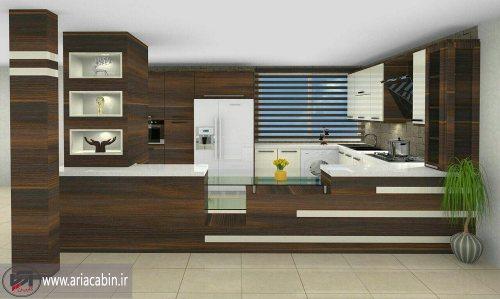 آریا کابین | طراحی و ساخت انواع کابینت - کابینت سازی - طراحی کابینت