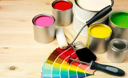 نقاشی ساختمان باقری | نقاشی و تزئینات ساختمان