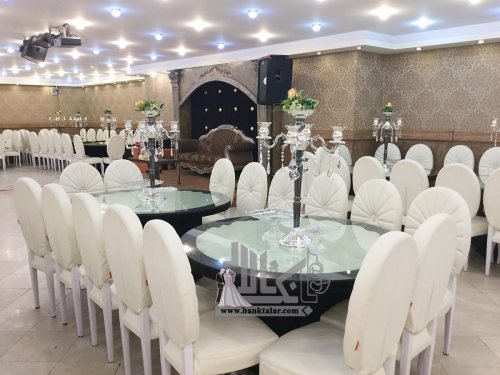 تالار پذیرایی و استخر قصر ملک