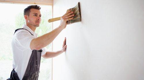 نقاشی ساختمان محسن | نقاشی و تزئینات ساختمان