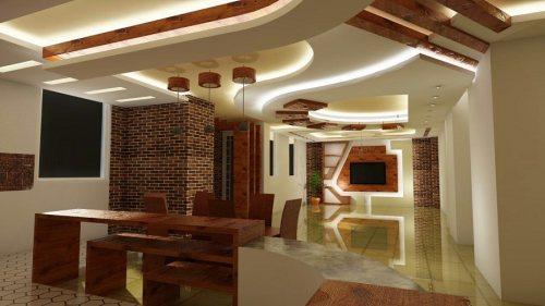 کناف ایده برتر | اجرای کناف، سقف کاذب و دکوراسیون داخلی
