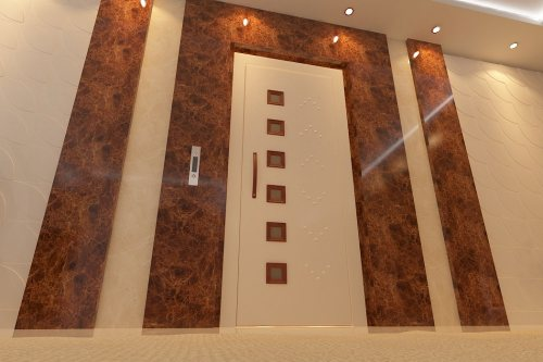 تولیدی یگانه باران | تولید و پخش درب های لولایی آسانسور