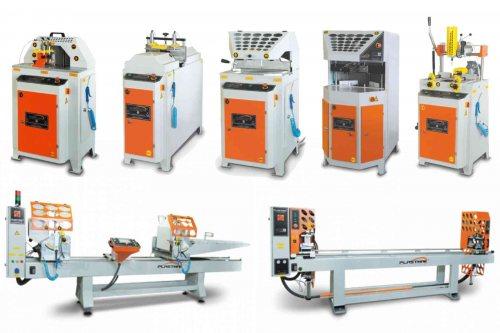 گروه صنعتی آذر آلوم | واردکننده ماشین آلات ساخت درب و پنجره UPVC
