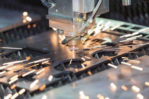 برش لیزری ورقهای فلزی منفرد(DM Laser)