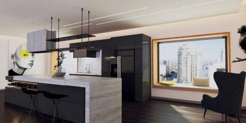 شرکت معماری ستین | طراحی اجرای دکوراسیون داخلی، نما، ویلا