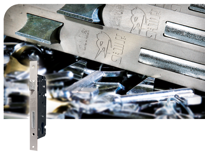 قفل 6.5 سوئیچی پرستو با زبانه فولادی