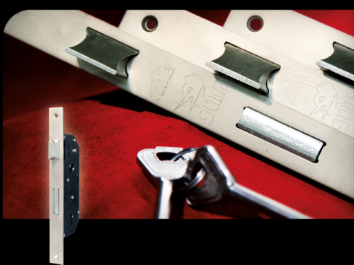 قفل 6.5 کلیدی پرستو با زبانه فولادی